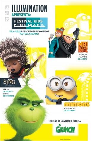 FESTIVAL KIDS CINEMARK - MEU MALVADO FAVORITO 2